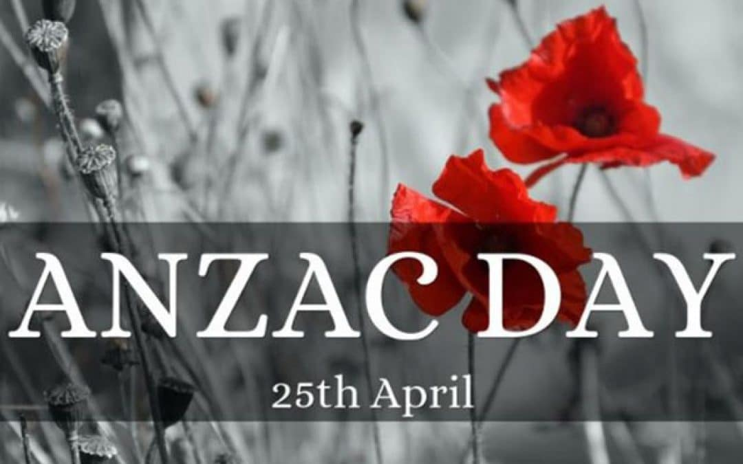 As We Remember – Lest We Forget